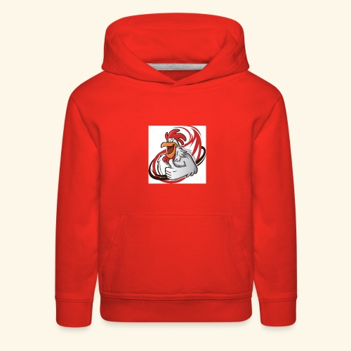 cartoon chicken with a thumbs up 1514989 - Kids' Premium Hoodie