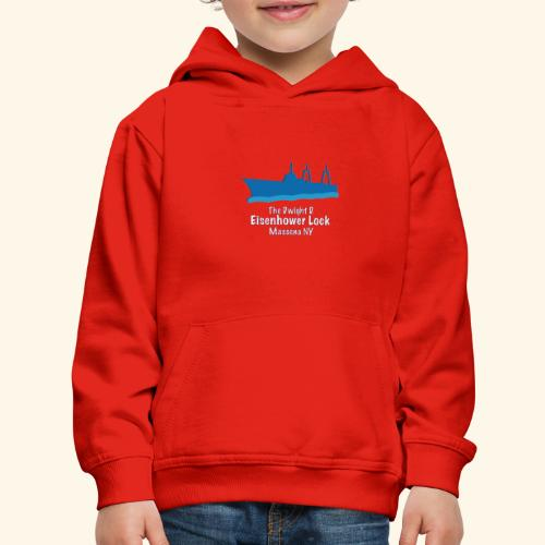 Eisenhower Lock Blue - Kids' Premium Hoodie