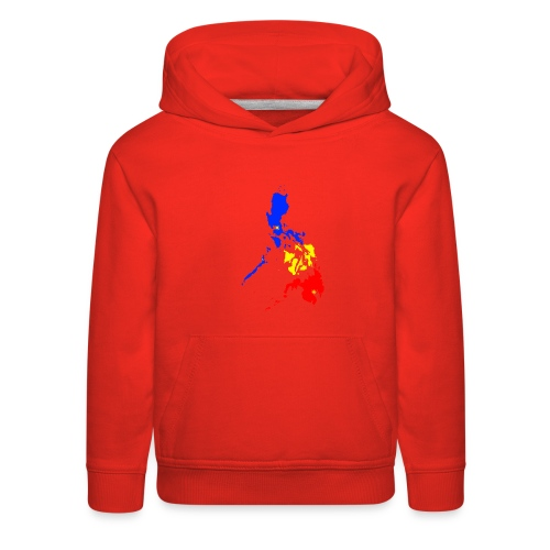 Philippines map art - Kids' Premium Hoodie