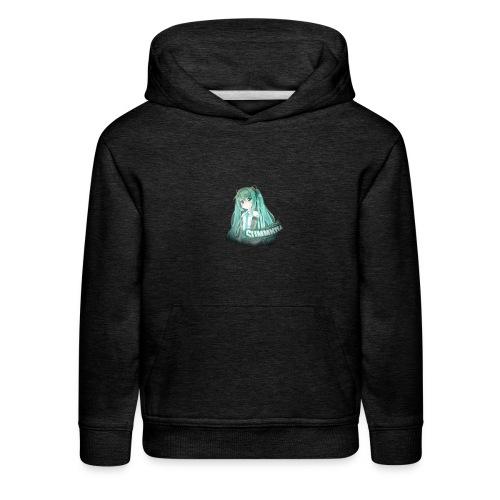 Summrrz Logo Transparent - Kids' Premium Hoodie