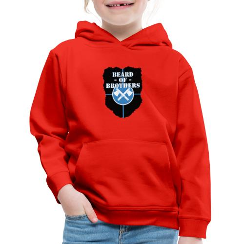 Beard Of Brothers - Kids' Premium Hoodie