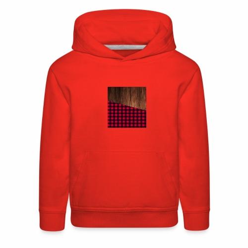Wooden shirt - Kids' Premium Hoodie