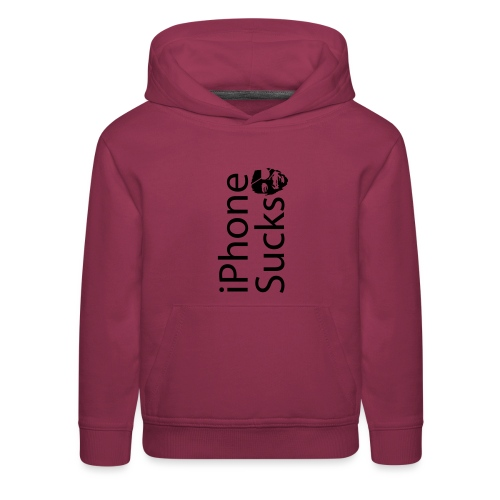 iPhone Sucks - Kids' Premium Hoodie