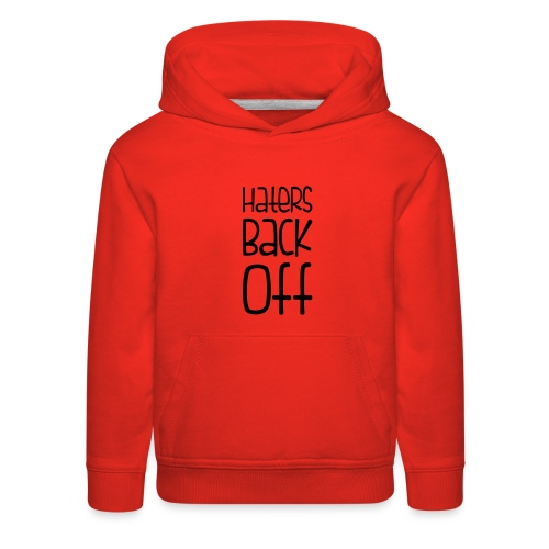 Miranda Sings Haters Back Off - Kids' Premium Hoodie