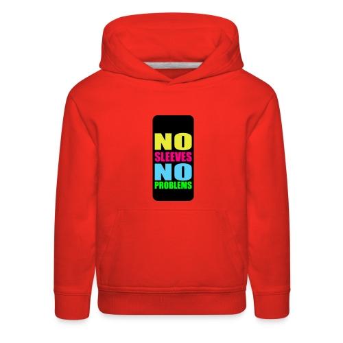 neonnosleevesiphone5 - Kids' Premium Hoodie