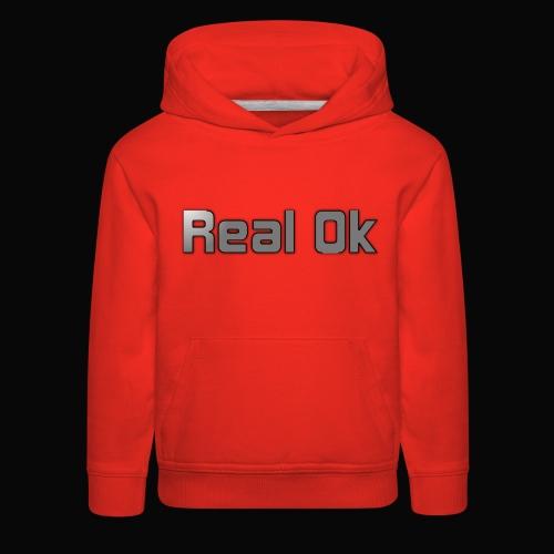 Real Ok version 2 - Kids' Premium Hoodie
