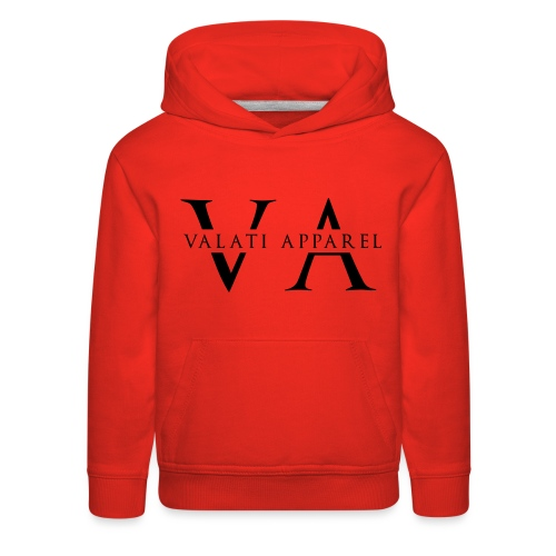 VA Strikethrough - Kids' Premium Hoodie