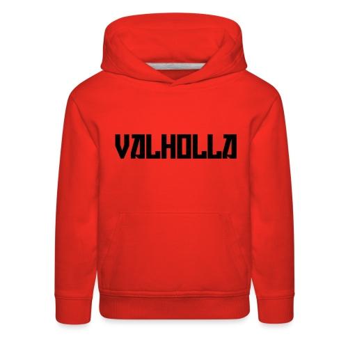 valholla futureprint - Kids' Premium Hoodie