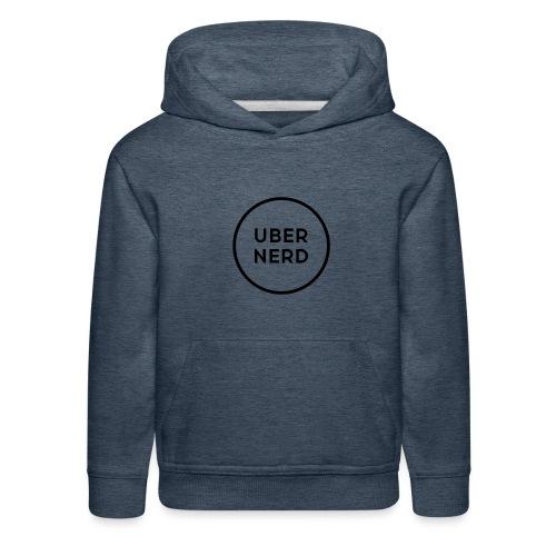 uber nerd logo - Kids' Premium Hoodie