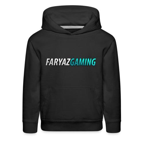 FaryazGaming Theme Text - Kids' Premium Hoodie