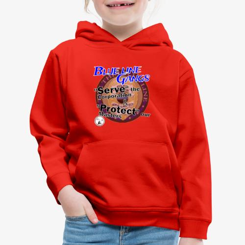 Thin Blue Line - To Serve and Protect - Kids' Premium Hoodie