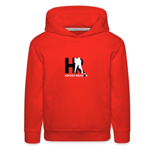 Hockey Religion - Kids' Premium Hoodie