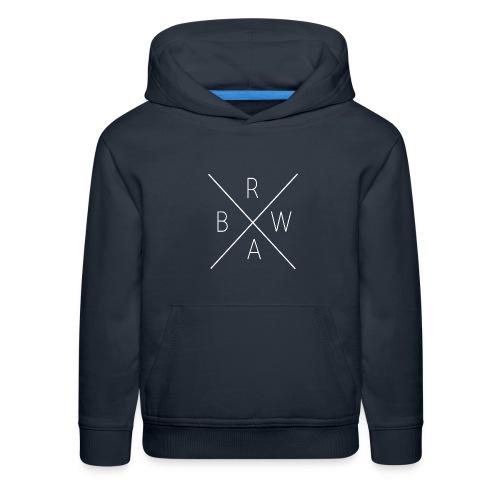 BRWA ShirtX White - Kids' Premium Hoodie