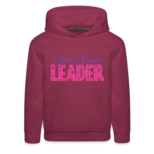 Girl Scout Leader - Kids' Premium Hoodie