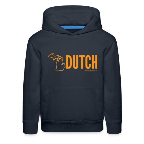 Michigan Dutch (orange) - Kids' Premium Hoodie