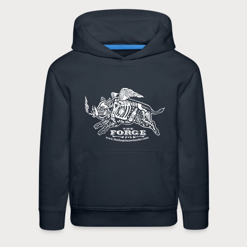 The Forge White Pig 01 - Kids' Premium Hoodie