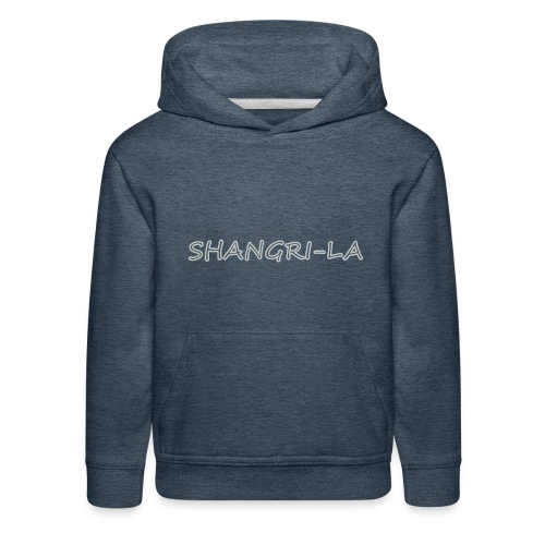 Shangri La silver - Kids' Premium Hoodie