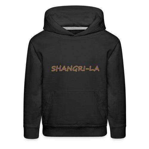 Shangri La gold blue - Kids' Premium Hoodie