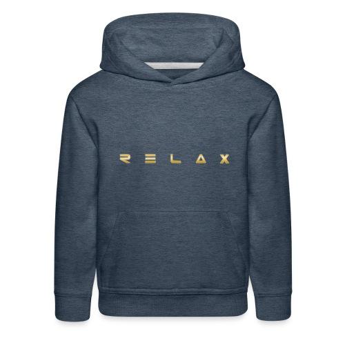Relax gold - Kids' Premium Hoodie