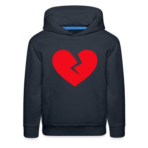 Broken Heart - Kids' Premium Hoodie