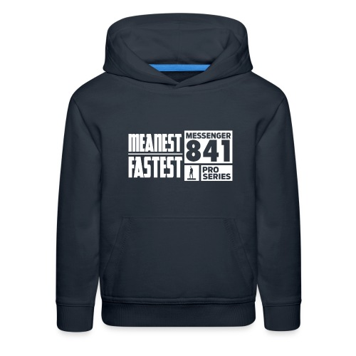Messenger 841 Meanest and Fastest Crew Sweatshirt - Kids' Premium Hoodie