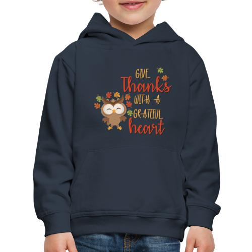 Give Thanks - Kids' Premium Hoodie