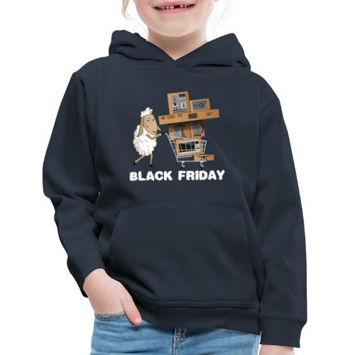 Black Friday or The day of Panurge's Sheeps - Kids' Premium Hoodie