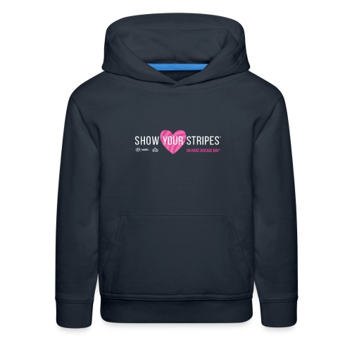Show Your Stripes for Rare Disease Day! - Kids' Premium Hoodie