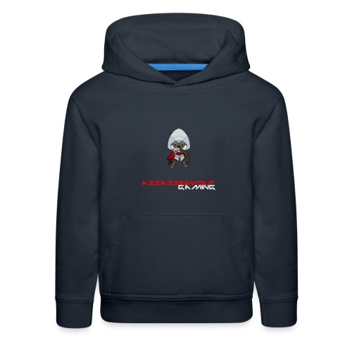 heather gray assassinwolf Tee - Kids' Premium Hoodie