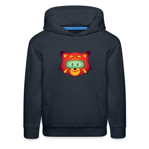 Foxr Head (no logo) - Kids' Premium Hoodie