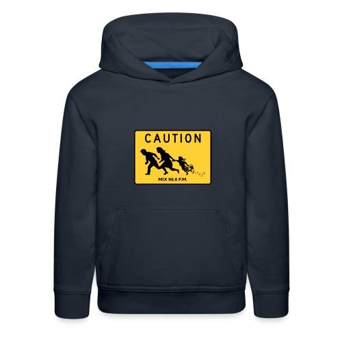 CAUTION SIGN - Kids' Premium Hoodie