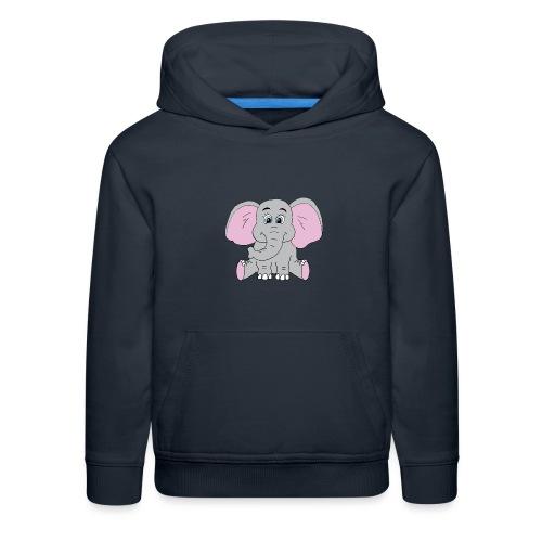 Cute Baby Elephant - Kids' Premium Hoodie