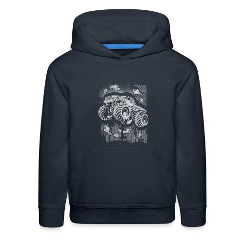Monster Big Foot Grunge Baby & Toddler Shirts - Kids' Premium Hoodie