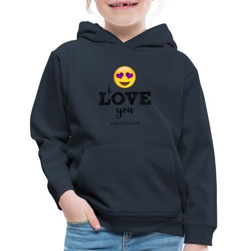 I LOVE you - Kids' Premium Hoodie