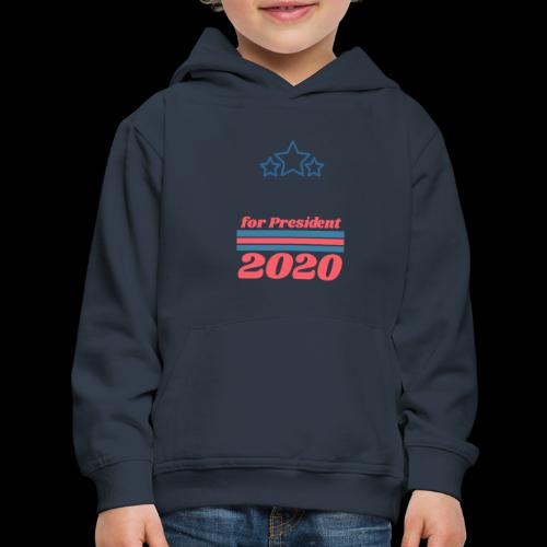 For President 2020 | Add Your Own Name Text - Kids' Premium Hoodie