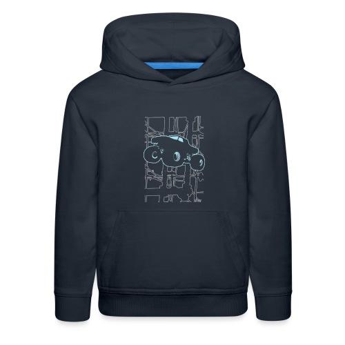 Monster Truck Electronica - Kids' Premium Hoodie
