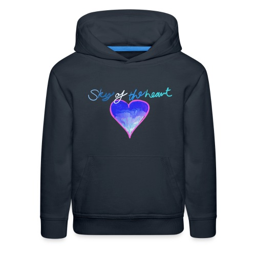 Sky of the Heart T-Shirt - Kids' Premium Hoodie