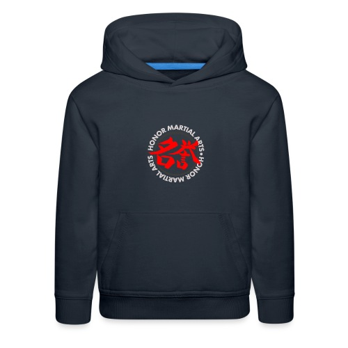 Honor Martial Arts Kanji Design Light Shirts - Kids' Premium Hoodie