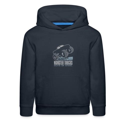 Monster Truck Guts - Kids' Premium Hoodie