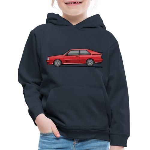 four rings b2 red quattro - Kids' Premium Hoodie
