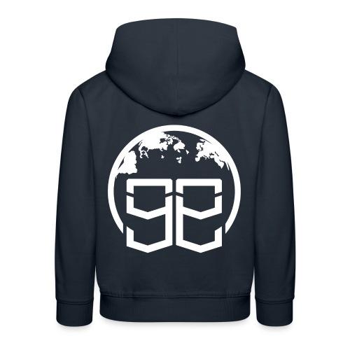 Global Goons White original - Kids' Premium Hoodie