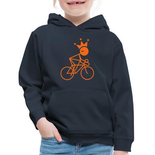 Winky Cycling King - Kids' Premium Hoodie