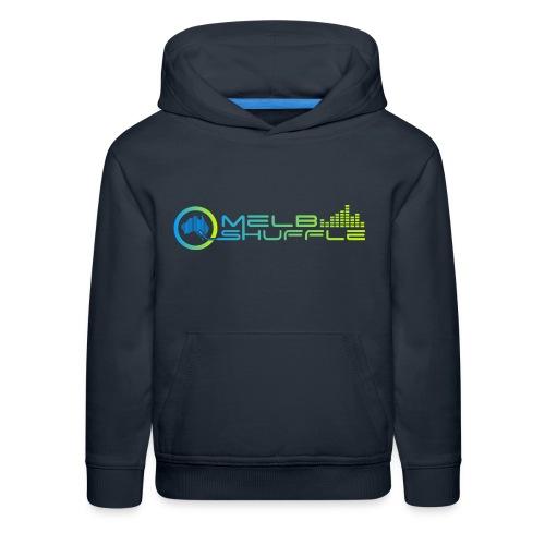 Melbshuffle Gradient Logo - Kids' Premium Hoodie
