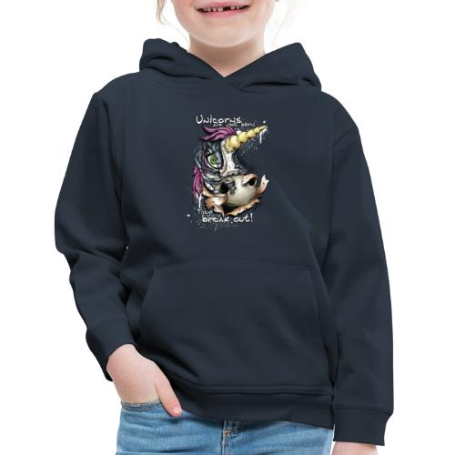 unicorn breakout - Kids' Premium Hoodie