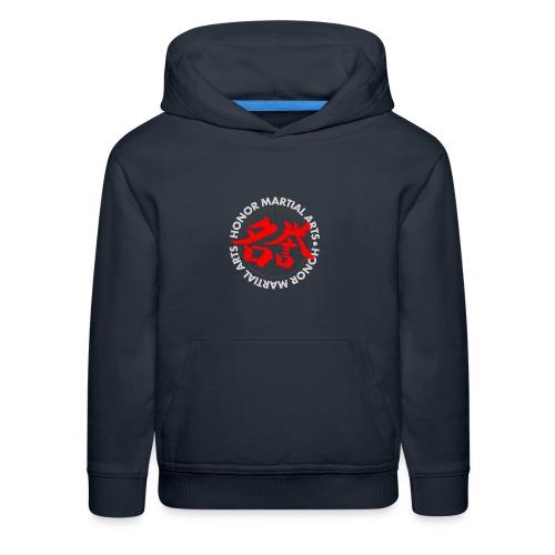Honor Martial Arts Kanji Design Light Shirts - Kids' Premium Hoodie