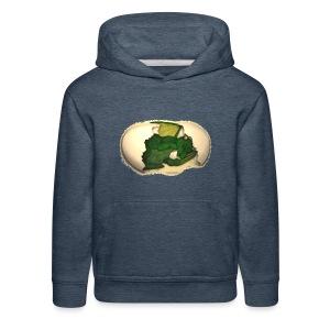 The Emerald Dragon of Nital - Kids' Premium Hoodie