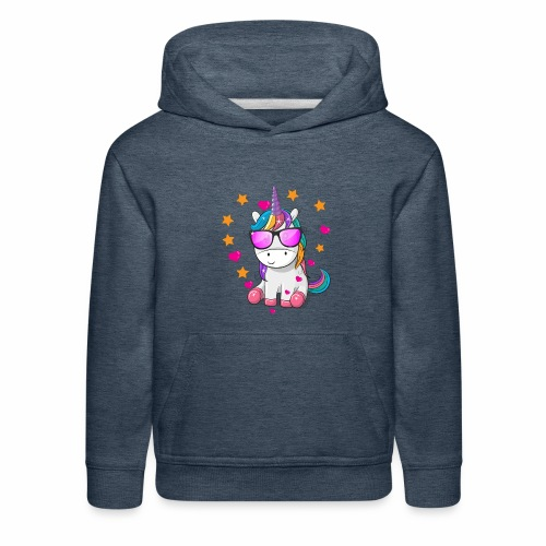 Valentine's Day T-Shirt Gift for Unicorn lovers - Kids' Premium Hoodie