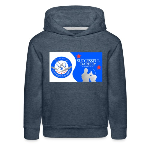 Official Successful Barber - Kids' Premium Hoodie