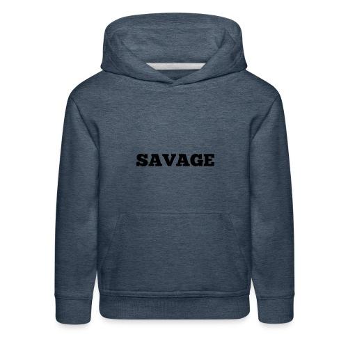 Kids savage merchandise - Kids' Premium Hoodie