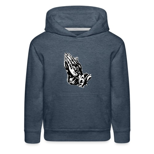 Praying Hands - Kids' Premium Hoodie